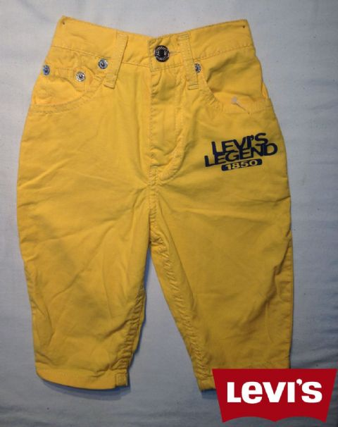 Boys Levis Jeans -Chester/Yellow(Not a Boys Suit Or a Girls Dress)